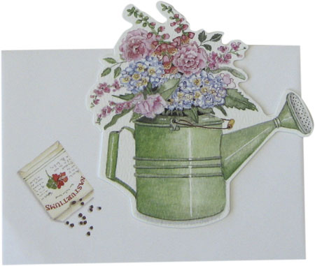 Watering Can Gift Enclosure