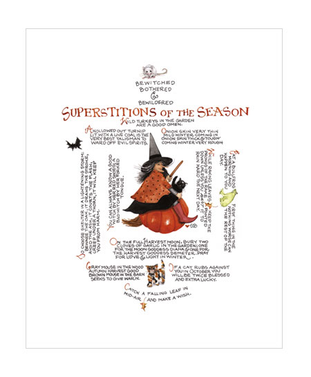 """Superstitions of the Season""  Print"