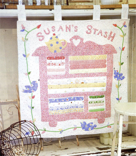 Susan's Stash Wall Quilt Pattern