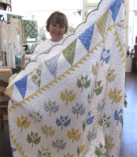 Everything Grows in Susan's Garden Quilt Pattern
