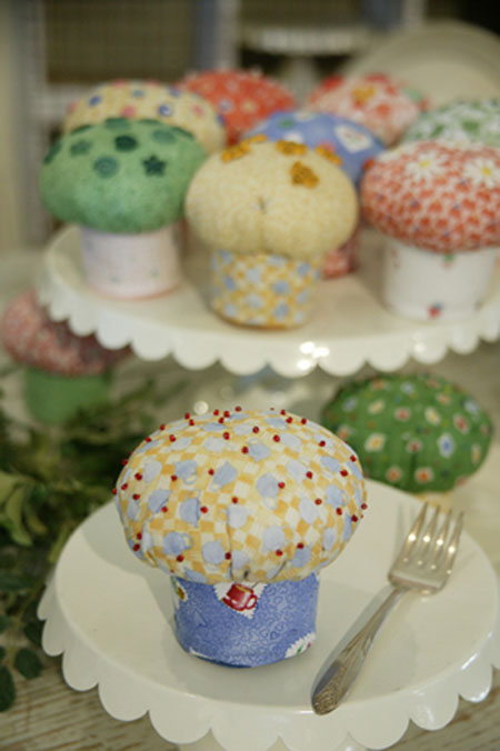 Fabric Cupcakes Pattern