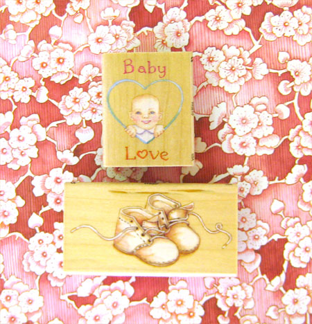 Baby Love Stamps Set of 2