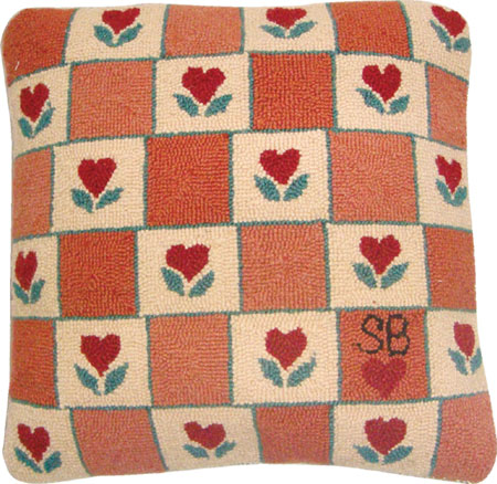Heart in Hand Pillow