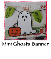 Mini Ghosts Banner