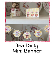 Tea Party Mini Banner