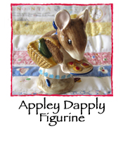Appley Dapply Figurine