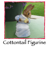 Cottontail Figurine