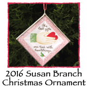 2016 Susan Branch Christmas Ornament