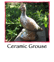 Ceramic Grouse