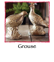 Grouse, set of 2