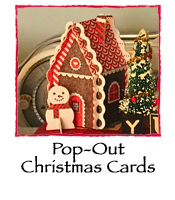 Single Pop-Out  Christmas Card