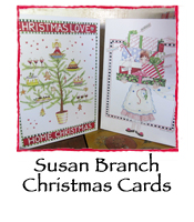 Susan Branch Christmas Cards