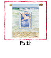 Faith Decorative Flag