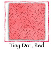 Tiny Dot, Red