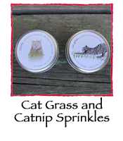 Cat Grass and Catnip Sprinkles