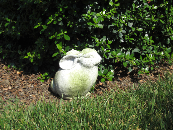 Rabbit Friend Garden Statue