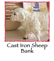 Cast Iron Sheep Bank