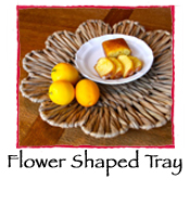 Flower Shaped Tray