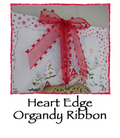 Heart Edge Organdy Ribbon