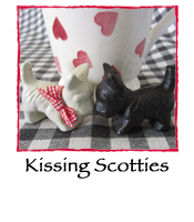 Kissing Scotties