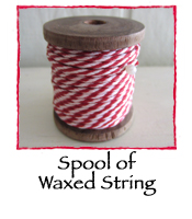 Spool of  Waxed String