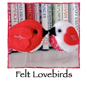 Felt Lovebirds