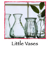 Little Vases, set of 5