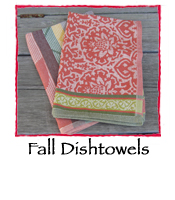 Fall Dishtowels, set of 2
