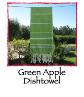 Green Apple Dishtowel