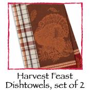 Harvest Feast Dishtowels, set of 2