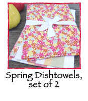 Spring Dishtowels, set of 2