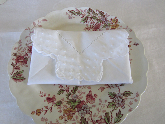 Scalloped Edge Napkin