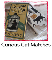 Curious Cats Safety Matches