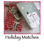 Holiday Safety Matches