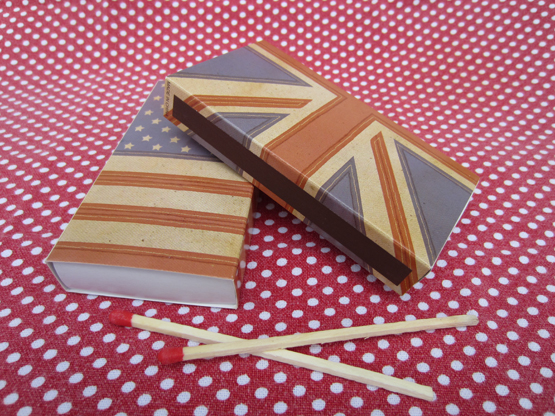 Vintage Flags Safety Matches
