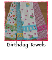 Birthday Towels