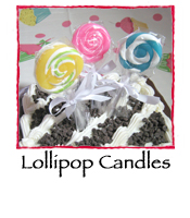 Lollipop Candles