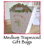 Medium Trapezoid Gift Bags, set of 2