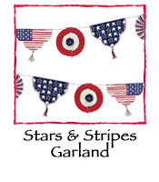 Stars & Stripes Garland