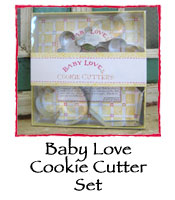 Baby Love Cookie Cutter Set