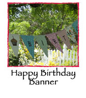 Happy Birthday Banner