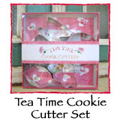 Tea Time Cookie Cutter Set