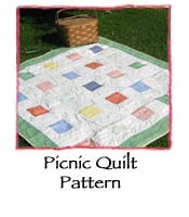 Picnic Quilt Pattern