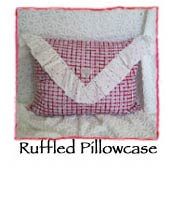 Ruffled Pillowcase Pattern