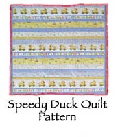 Speedy Duck Quilt Pattern