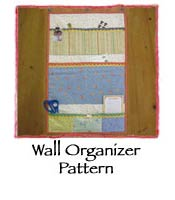 Wall Organizer Pattern
