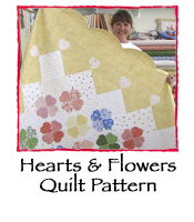 Hearts and Flowers Quilt Pattern