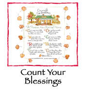 PRINT:Count Your Blessings