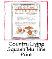 Country Living Squash Muffins Print