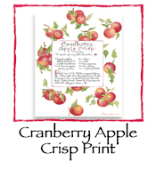 Cranberry Apple Crisp Print